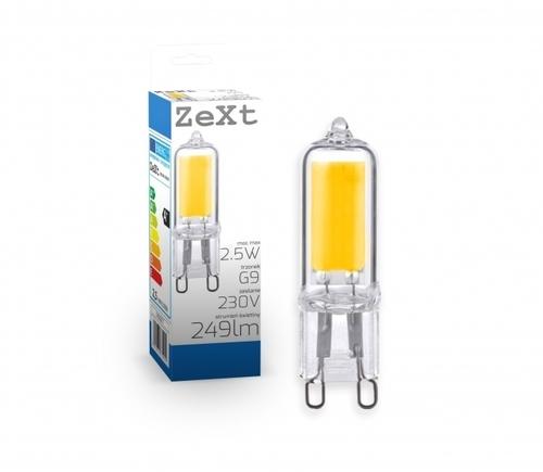 LED světelný zdroj G9 2,5 W 3000K 249lm