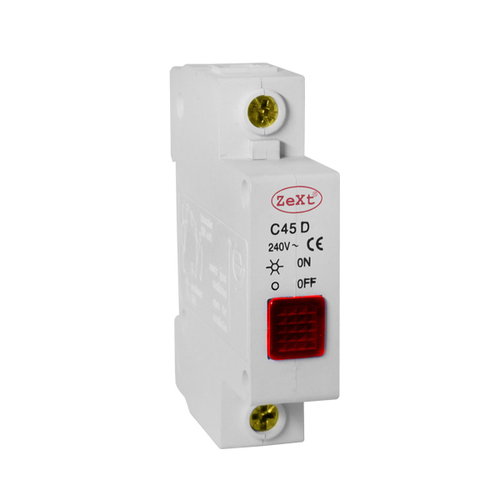 Signální světlo C45D červené