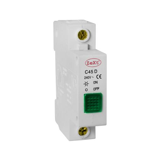 Signální světlo C45D zelené