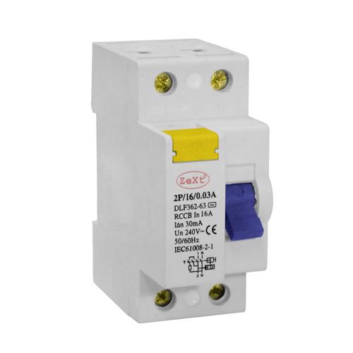 Proudový chránič zbytkového proudu DLF 2P 25A 100 mA