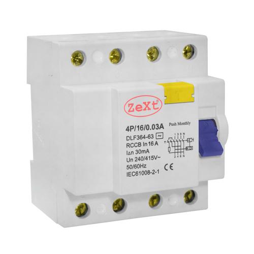 Proudový chránič zbytkového proudu DLF 4P 16A 300 mA