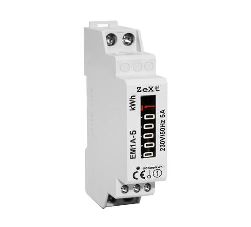 Jednofázový měřič energie - 10A - analogový