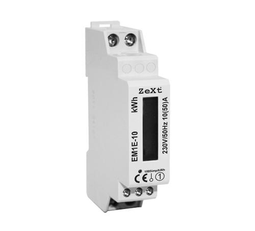 Jednofázový měřič energie - 10A - LCD