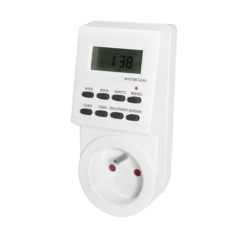 7denní digitální programátor času 3,5 kW
