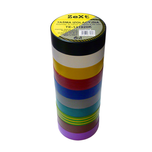 Barva izolační pásky 0,13X19X10