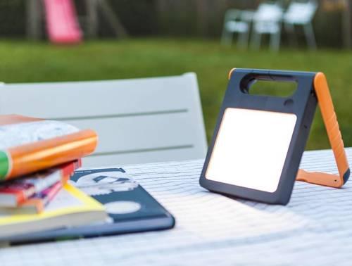Přenosná solární lampa s USB Lutec PADLIGHT