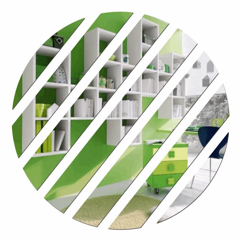 Dekorativní zrcadlo LINE plexisklo (do vyprodání zásob)