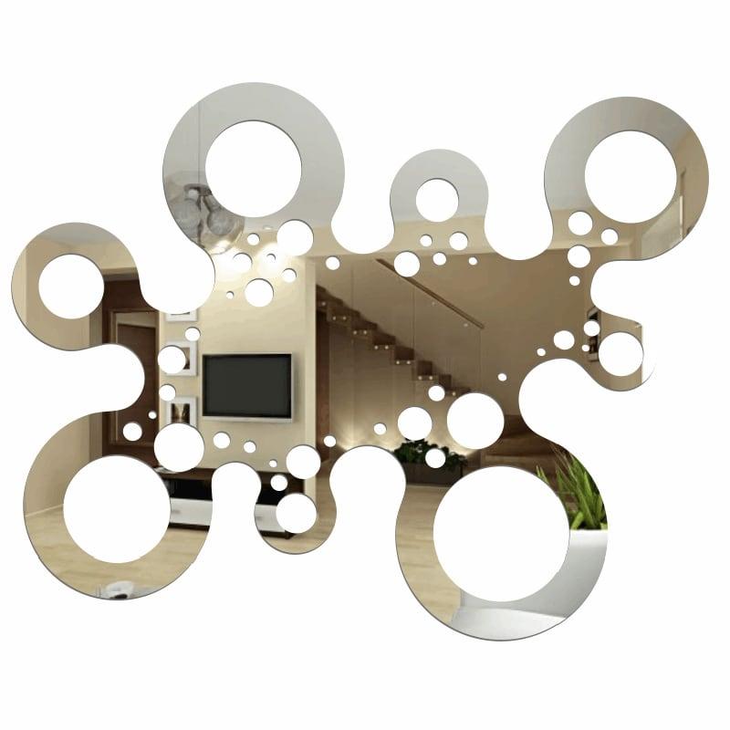 Dekorativní zrcadlo MODERN plexiglass (do vyprodání zásob)