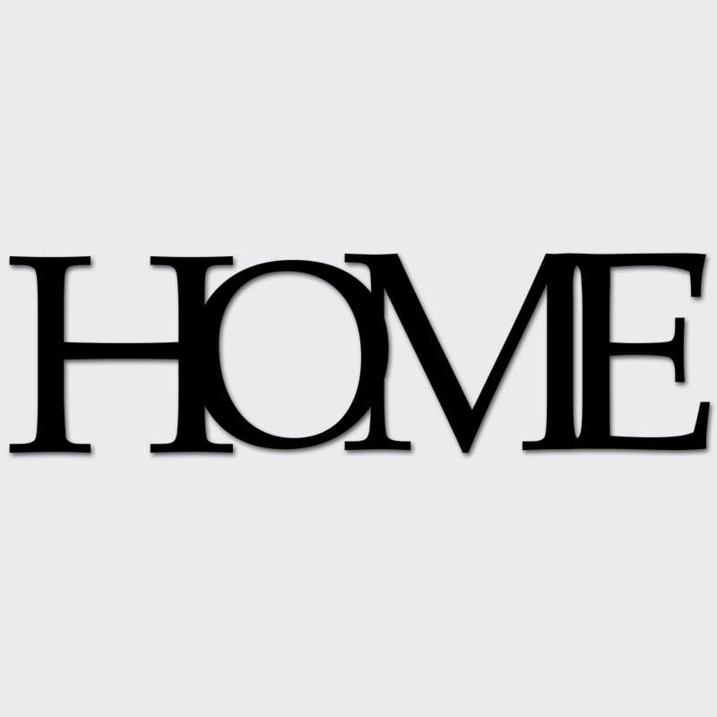 Ukázka nápisu HOME