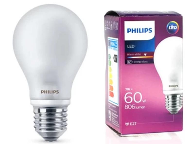 LED žárovka LED LED E27 A60 7W 806