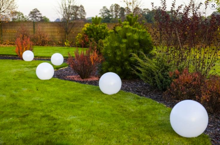 Solární koule Flexi Ball Solar o průměru 40 cm s dálkovým ovládáním