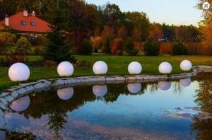 Solární koule Flexi Ball Solar o průměru 50 cm s dálkovým ovládáním small 1