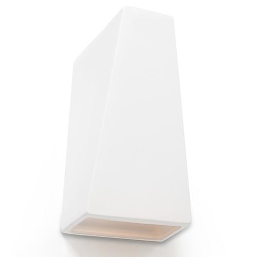 Biały Kinkiet Ceramiczny FUTURO