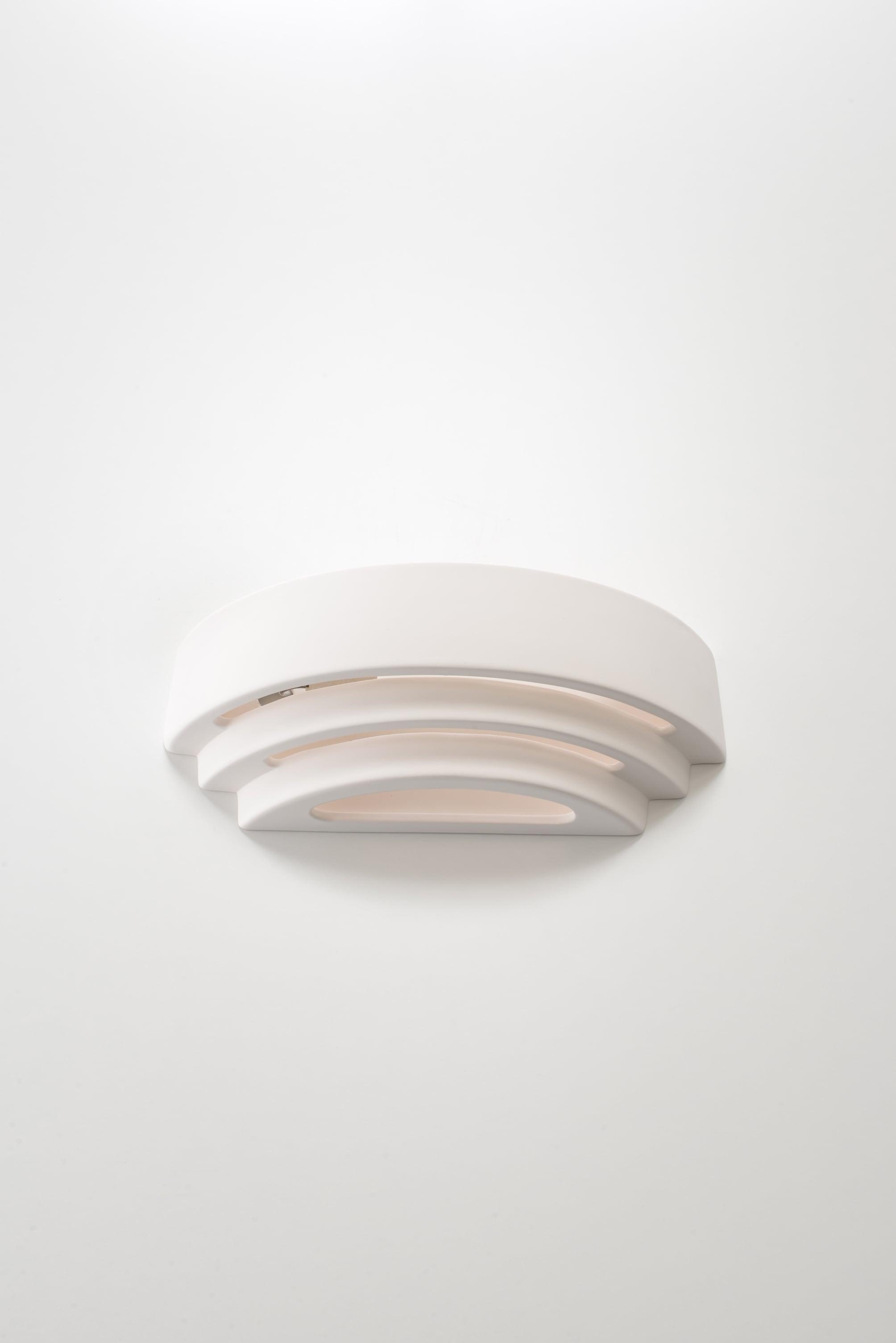 Keramická nástěnná lampa TRISOL