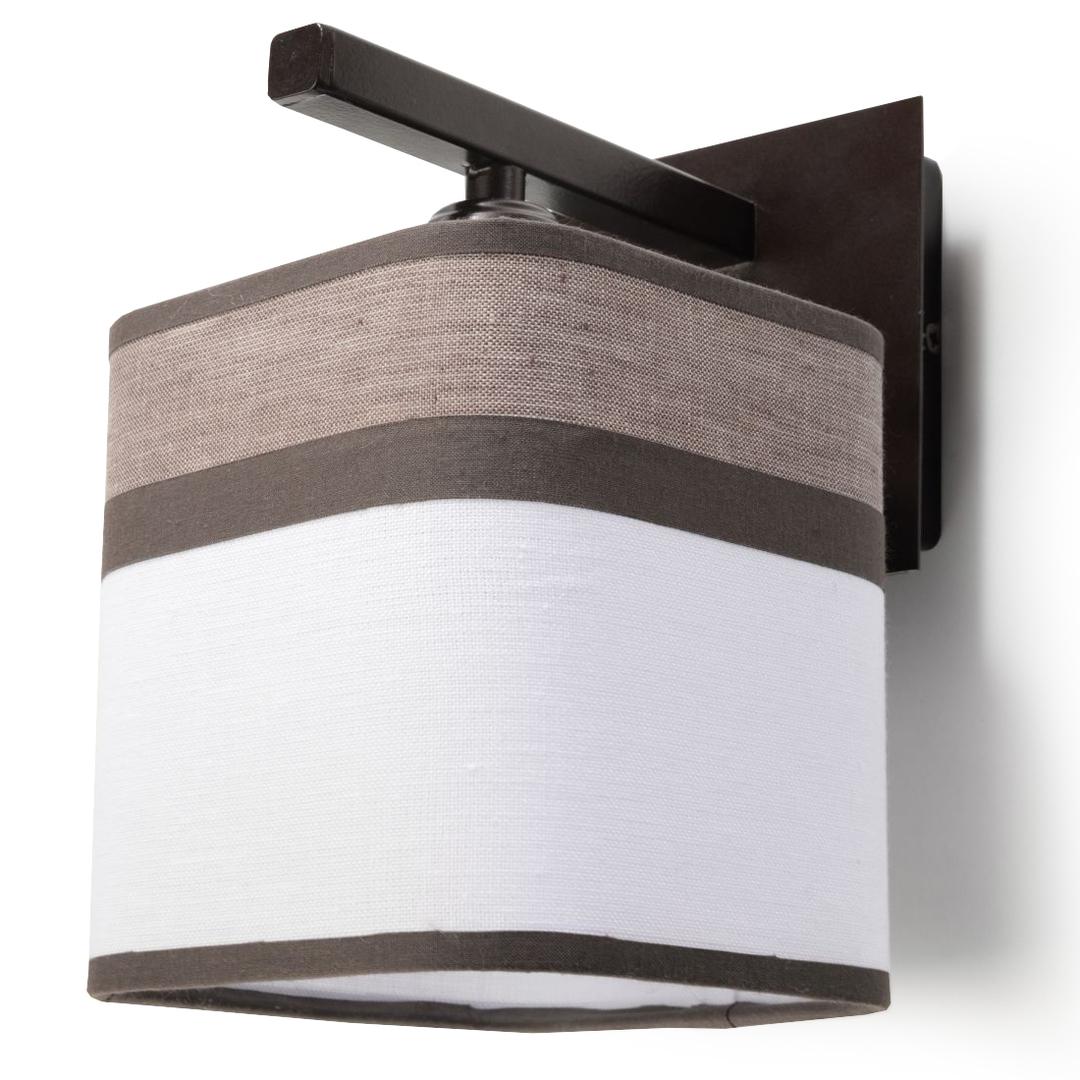 Klasická nástěnná lampa Cappuccino do ložnice