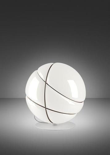 Stolní lampa Fabbian Armilla F50 13W - Hnědá a bílá - F50 B01 01