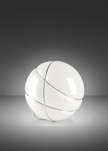 Stolní lampa Fabbian Armilla F50 13W - bílá a stříbrná - F50 B03 01