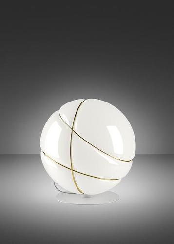 Stolní lampa Fabbian Armilla F50 13W - bílá a zlatá - F50 B05 01