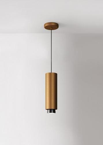 Závěsná lampa Fabbian Claque F43 20W 30cm - Bronzová - F43 A06 76