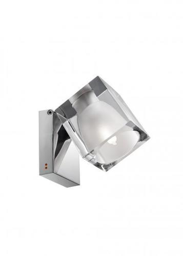 Spotlight Fabbian Cubetto D28 5W Chrome - transparentní - D28 G04 00