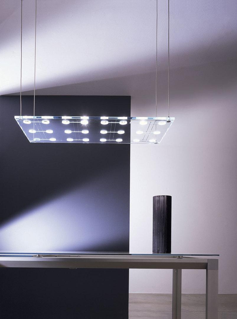 Závěsná lampa Fabbian Sospesa D42 5W L - průhledná - D42 A21 00