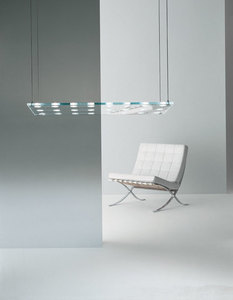 Závěsná lampa Fabbian Sospesa D42 10W XL - průhledná - D42 A13 00 small 1