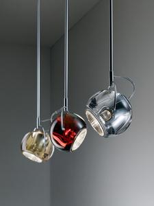 Fabbian Beluga Color D57 7W stropní lampa Triple - měď - D57 G25 41 small 11