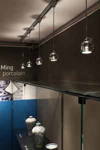 Fabbian Beluga Color D57 7W stropní lampa Triple - měď - D57 G25 41 small 2