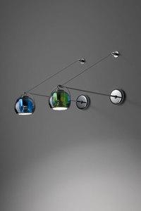 Fabbian Beluga Color D57 7W stropní lampa Triple - měď - D57 G25 41 small 5