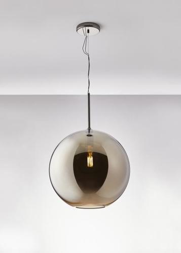 Závěsná lampa Fabbian Beluga Royal D57 22W 40cm - titan - D57 A61 34