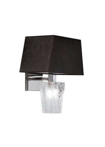 Nástěnná lampa Fabbian Vicky D69 5W - černá - D69 D03 02
