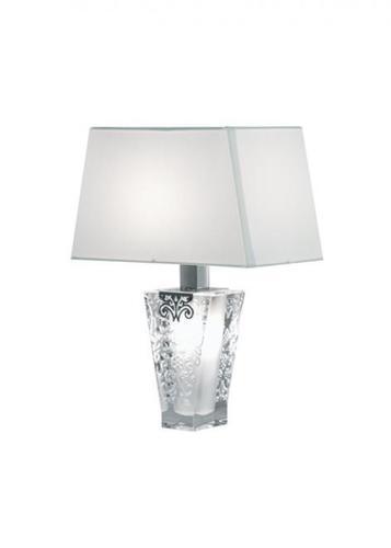 Stolní lampa Fabbian Vicky D69 5W + stínidlo - bílá - D69 B03 01
