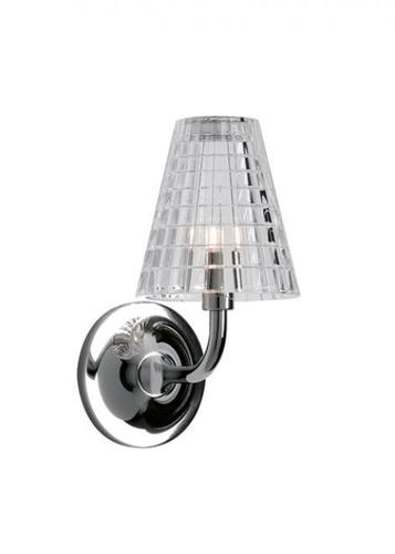 Nástěnná lampa Fabbian Flow D87 5W 12cm - Transparentní - D87 D01 00