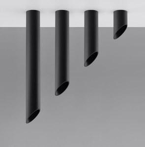 Černé stropní svítidlo PENNE 40 small 3