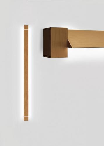 Nástěnná lampa Fabbian Pivot F39 46W 2700K - Bronz - F39 G04 76