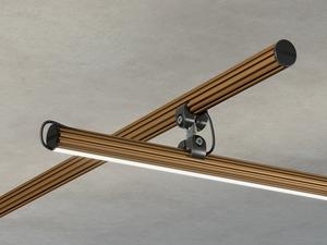 Elektrické příslušenství Fabbian Freeline F44 Zdobená tyč 1m - 2700K - Bronzová - F44 M17 76 small 2