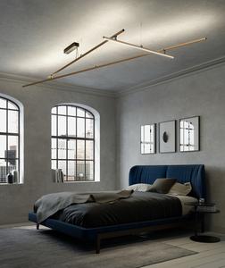 Závěsná lampa Fabbian Freeline F44 4W 1m - bronz - F44 A02 76 small 10