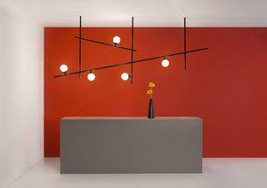 Závěsná lampa Fabbian Freeline F44 8W 2m - černá - F44 A03 02 small 7