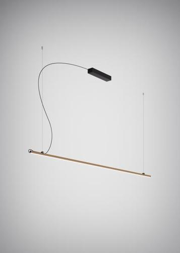 Lampa wisząca Fabbian Freeline F44 8W 2m - Brąz - F44 A04 76
