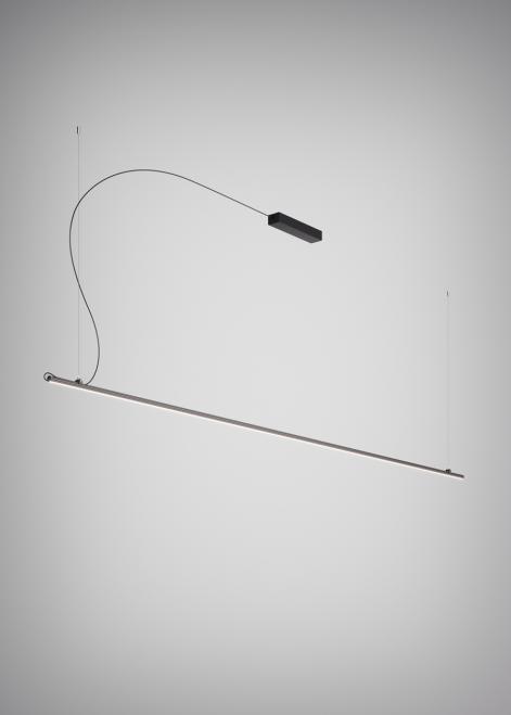 Závěsná lampa Fabbian Freeline F44 2W 3m - černá - F44 A05 02