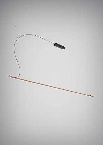 Závěsná lampa Fabbian Freeline F44 2W 3m - bronz - F44 A06 76