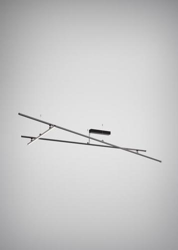 Stropní lampa Fabbian Freeline F44 4W 3000K - Černá - F44 E01 02