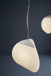 Závěsná lampa Fabbian Fruitfull F51 14W 26,5cm 2700K - bílá - F51 A04 01 small 0