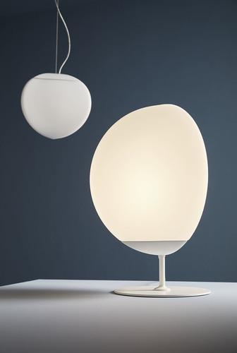 Fabbian Fruitfull F51 14W 22cm 2700K stolní lampa - bílá - F51 B02 01