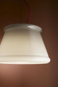 Závěsná lampa Fabbian Ivette F53 22W - bílá a jantarová - F53 A01 01 small 2