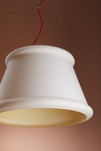 Závěsná lampa Fabbian Ivette F53 22W - bílá a jantarová - F53 A01 01 small 5