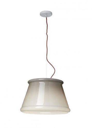 Závěsná lampa Fabbian Ivette F53 22W - Šedá a bílá - F53 A01 58