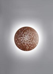 Nástěnná lampa Fabbian Lens F46 45W 60cm - Rust - F46 G01 56 small 0