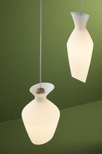 Závěsná lampa Fabbian Malvasia F52 12W 27cm - zelená - F52 A05 43 small 3
