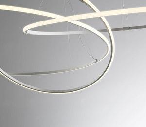 Závěsná lampa Fabbian Olympic F45 76W 108,7cm 3000K - bílá - F45 A03 01 small 8